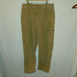 Polo Ralph Lauren Corduroy Cargo Pants, 38x32